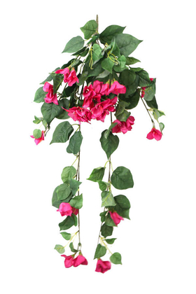 Yapay Çiçek Deposu - Yapay Orjinal Sarkan Begonvil 75 cm Fuşya