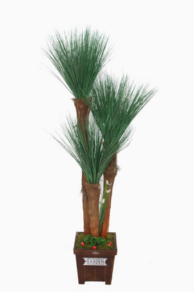 Yapay Çiçek Deposu - Yapay Püskül Ağacı 160 cm (Tasarım Model)