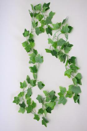 Yapay Çiçek Deposu - Yapay Gerçek Dokulu Zincir Sarmaşık 105 Yapraklı 230 cm Yeşil