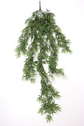 Yapay Çiçek Deposu - Yumuşak Dokulu Yapay Sarkan Asparangos Bitkisi 110 cm