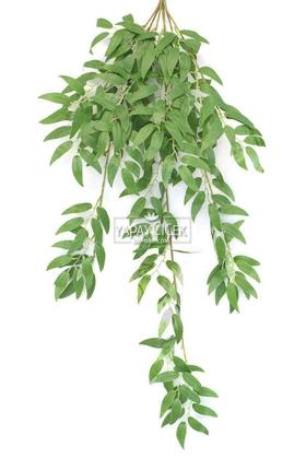 Yapay Çiçek Deposu - Sarkan Zeytin Dalı 90 cm Yeşil