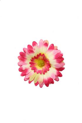 Yapay Çiçek Deposu - Yapay Tek Kafa Gerbera Pembe 12 cm