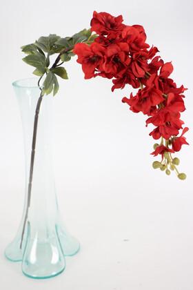 Yapay Çiçek Deposu - Yapma Çiçek Kaliteli Dal Şebboy 87 cm Dark Kırmızı