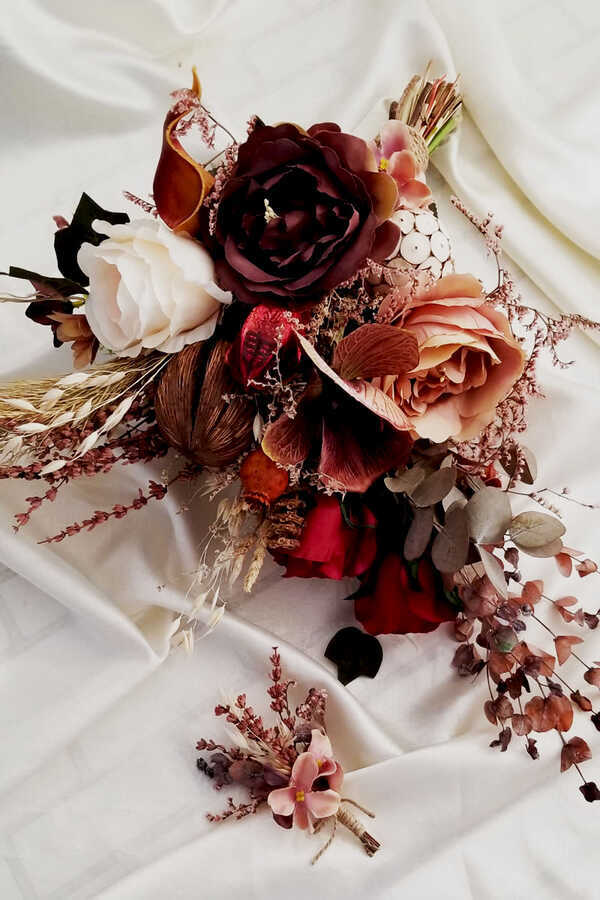 Exclusive Serisi Candi Gelin Çiçeği 2li Set